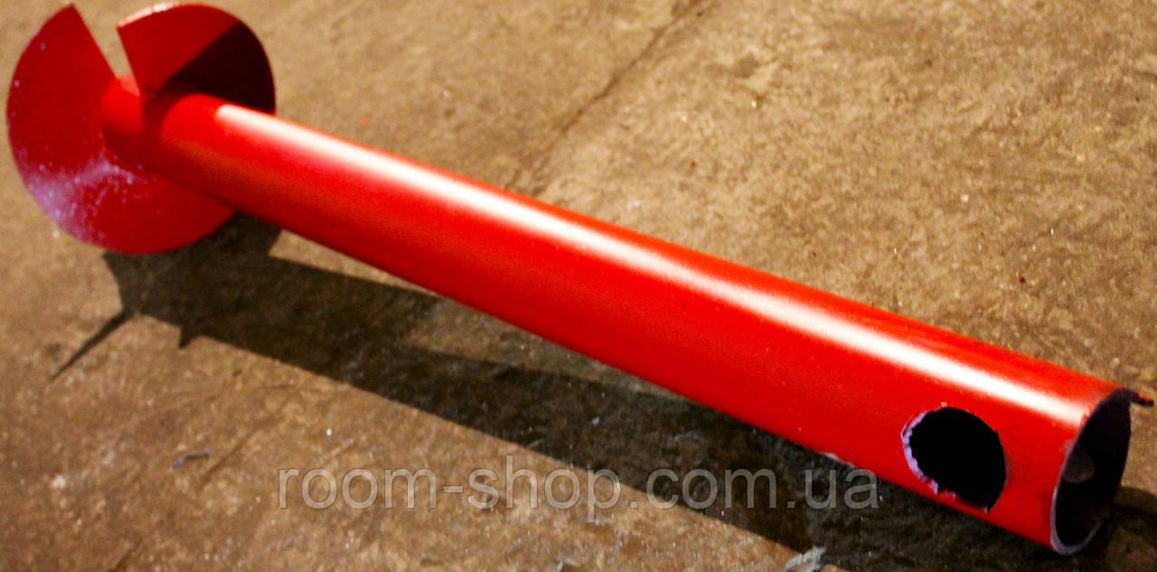 Однолопастные винтовые сваи (палі) диаметром 57 мм., длиною 4 метра