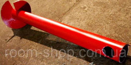 Однолопастные винтовые сваи (палі) диаметром 57 мм., длиною 4 метра, фото 2