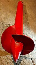 Однолопастные винтовые сваи (палі) диаметром 57 мм., длиною 4 метра, фото 3
