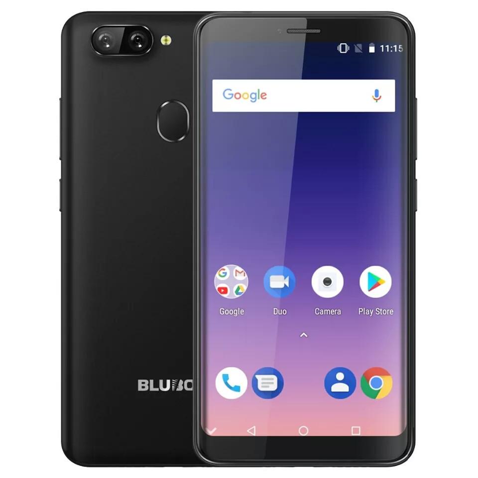 """Смартфон Bluboo D6 Pro Back 4G 5.5"""" HD 2/16gb MTK6739 And 8.1 + Чехол"""