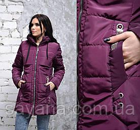 Женская весенняя куртка с декором в расцветках, р-р 48-54. ДР-3-1-0219