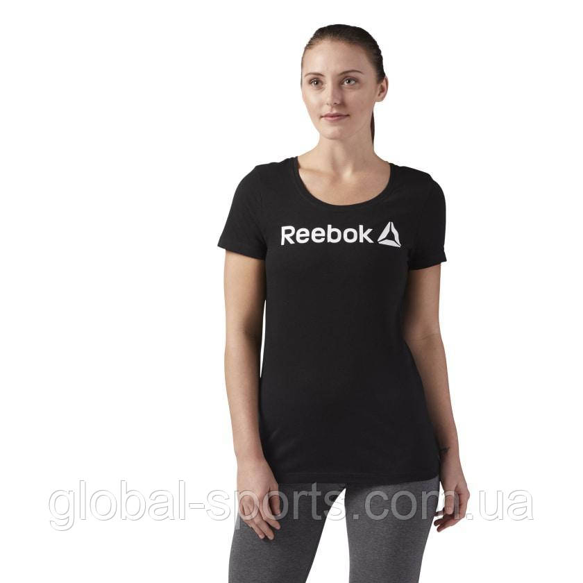 Женская футболка Reebok Scoop Neck Tee (Артикул: CF4455)