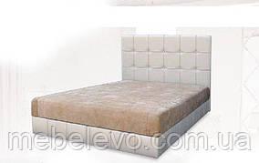 Кровать  Магнолия 160 1120х1620х2100мм    Вика  матрасная ткань, 1 категория