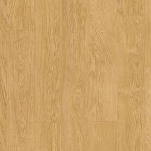 Виниловый пол для кухни, ванной Quick Step LIVYN BALANCE CLICK  Дуб селект натуральный 40033 под теплый пол
