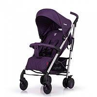Детская прогулочная коляска-трость Carrello Arena Ultra Violet на алюминиевой раме в льне