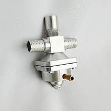 Вакуумный дозатор газа 16х16 алюминий