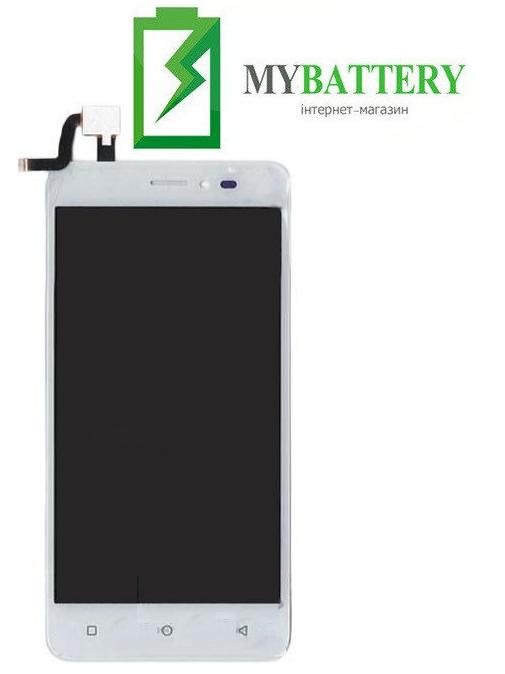 Дисплей (LCD) Bravis B501 Easy з сенсором білий