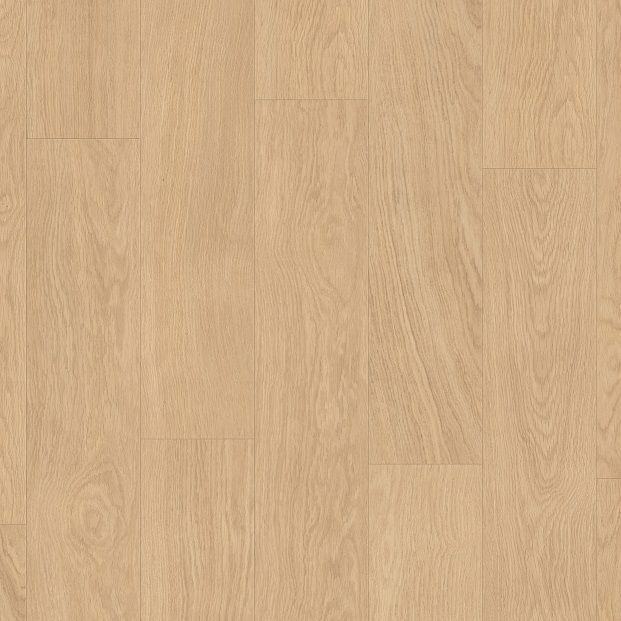Виниловый пол для кухни, ванной Quick Step LIVYN BALANCE CLICK Дуб селект светлый 40032 под теплый пол