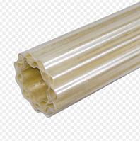 Пластиковый стекловолоконный шифер  2*10 м. прозрачный, фото 1