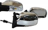 Vitol YH-3107A Зеркало боковое/LADA 04,05,07/Chrome/light/хром с поворотом