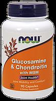 Хондропротектор Now Foods - Glucosamine Chondroitin MSM (90 капсул)