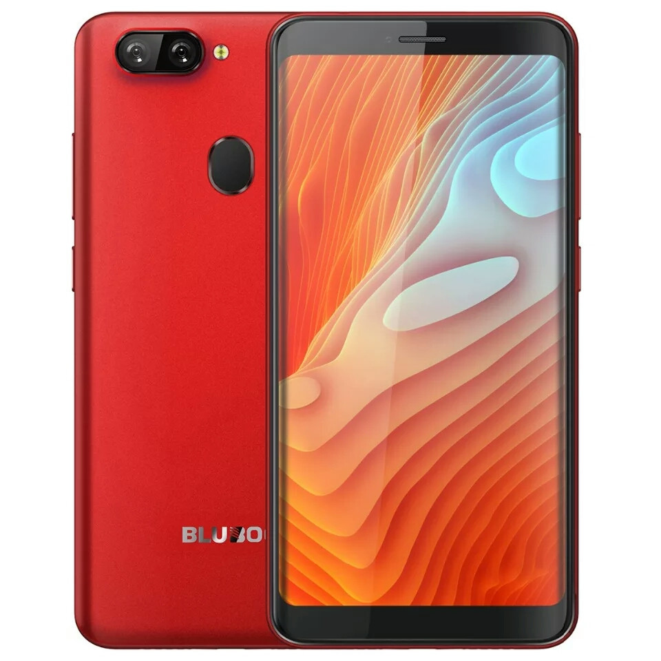 """Смартфон Bluboo D6 Pro Red 4G 5.5"""" HD 2/16gb MTK6739 And 8.1 + Чехол"""
