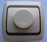 Выключатель реостатный, светорегулятор, димер 600Вт белый, крем, вишня, ольха, серебро, золото ABB Еl-Bi
