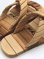 Деревянные тапочки для саун, фото 3