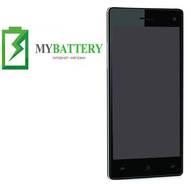 Дисплей (LCD) Bravis Omega с сенсором чёрный