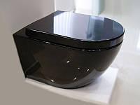 Чаша підвісного унітазу NEWARC Modern Чорний, фото 1