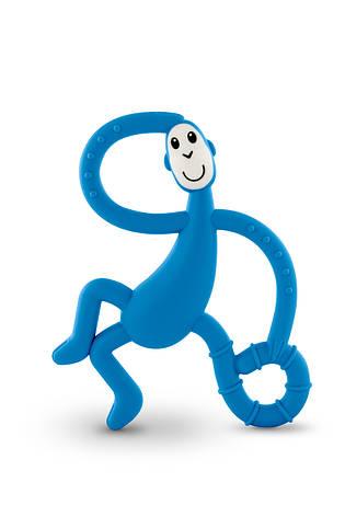Игрушка-прорезыватель Matchstick Monkey Танцующая Обезьянка (цвет синий, 14 см), фото 2