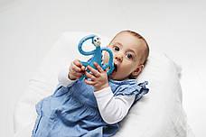 Игрушка-прорезыватель Matchstick Monkey Танцующая Обезьянка (цвет синий, 14 см), фото 3