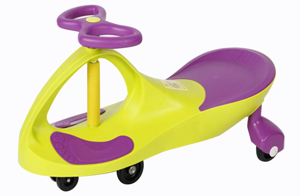 Дитяча машинка Bibicar Бібікар, PlasmaCar, Smart Car, Дитяча інерційна машинка - Жовтий