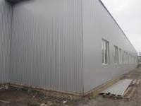 Профнастил стеновой ПС-8 серебристый, тол. 0,45 мм