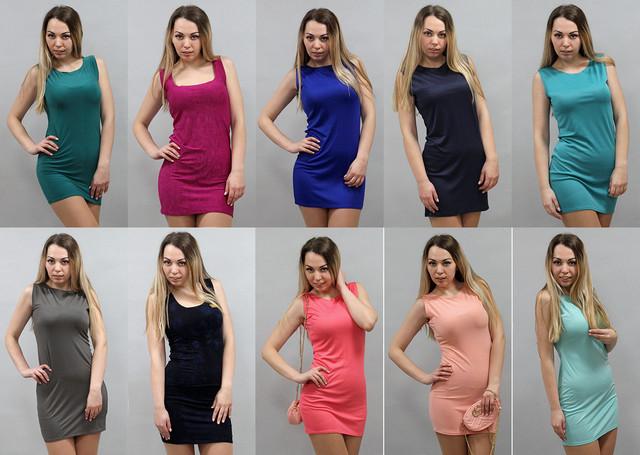Облегающее мини платье летнее
