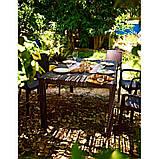 Комплект садових меблів MELODY + SAMANNA (6+1) графіт ( Keter ), фото 8