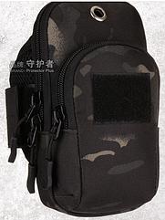 "Чехол-сумка для телефона (5.5"" ) на руку / предплечье (вело / бег / туризм / рыбалка)"