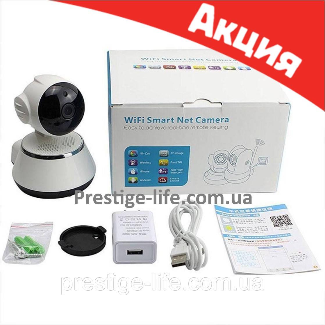 Поворотная Wi Fi IP-камера видеонаблюдения, Ночное виденье видео няня