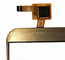 Сенсор (тачскрін) для Oukitel K5000  золотий, фото 3