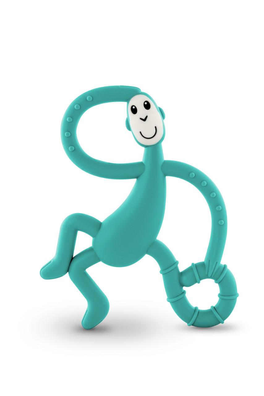 Игрушка-прорезыватель Matchstick Monkey Танцующая Обезьянка (цвет зеленый, 14 см)