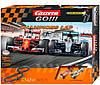 Автотрек Carrera Go Flying Lap двухуровневая гоночная трасса звуки свет 2 машинки Ferrari и Mercedes в коробке