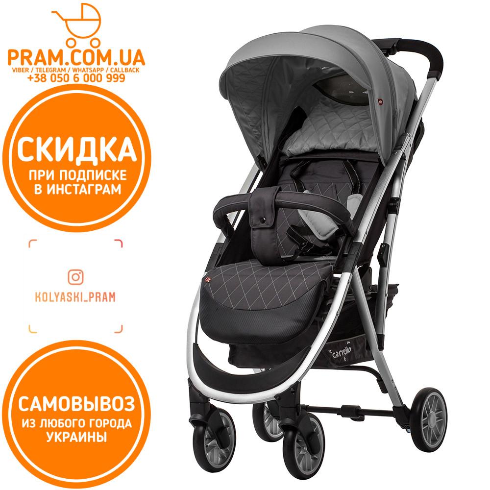 CARRELLO GLORIA CRL-8506/1 прогулочная коляска Iron Gray Серый