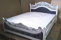 Деревянная кровать Корона от производителя.