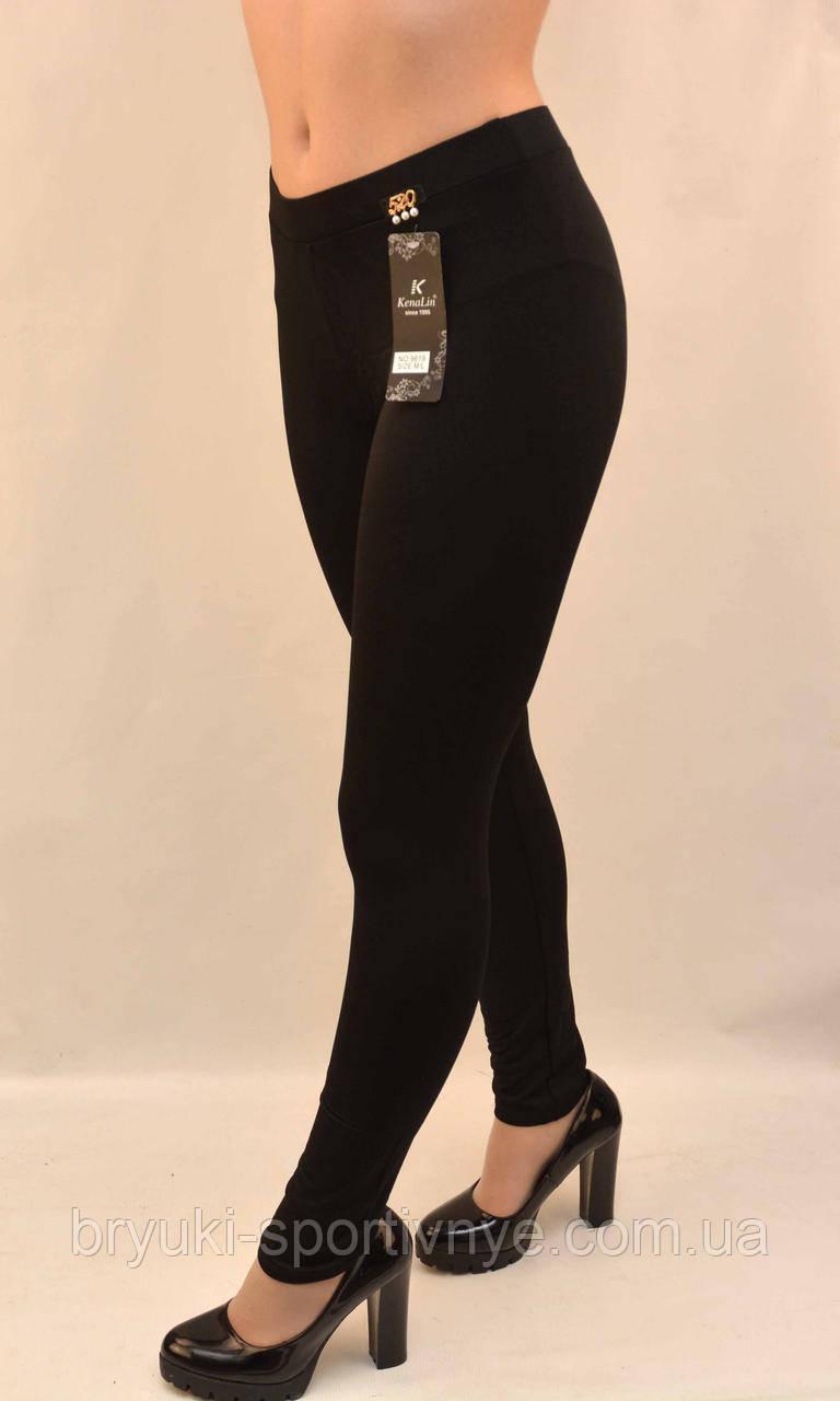 Лосины женские в черном цвете - микродайвинг