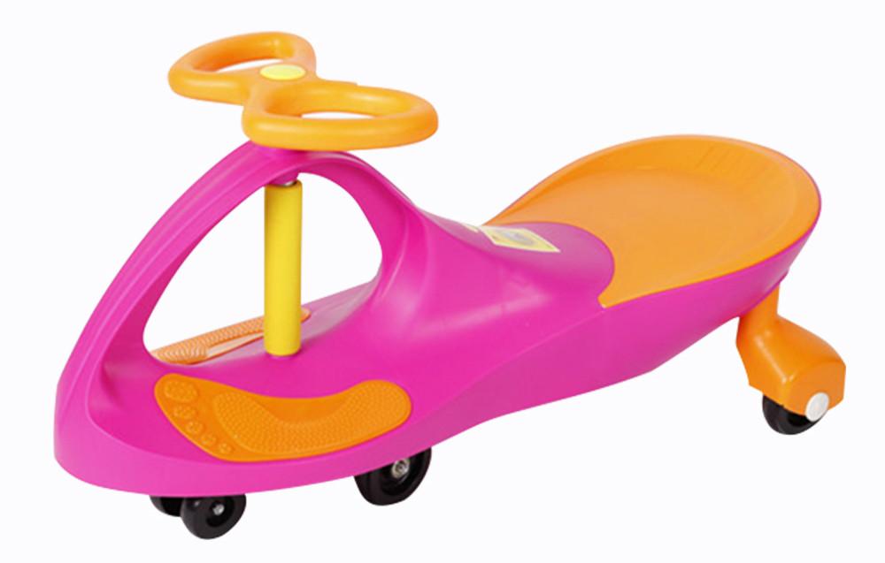 Детская машинка Bibicar Бибикар, PlasmaCar, Smart Car, Детская инерционная машинка - Розовый - фото 1