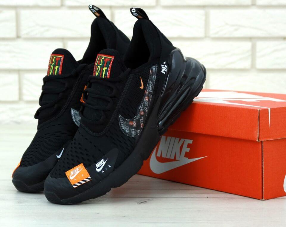 Кроссовки Nike Air Max 270 Just Do It Black