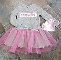 Платье для девочек с сумочкой оптом (0103/4)