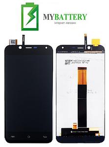Дисплей (LCD) Cubot Magic с сенсором черный