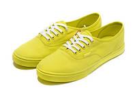 Женские кеды Vans Era желтые