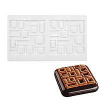 """Силиконовая форма для евродесертов, """"Tools Irregular Shape"""" форма для муссовых тортов и десертов"""