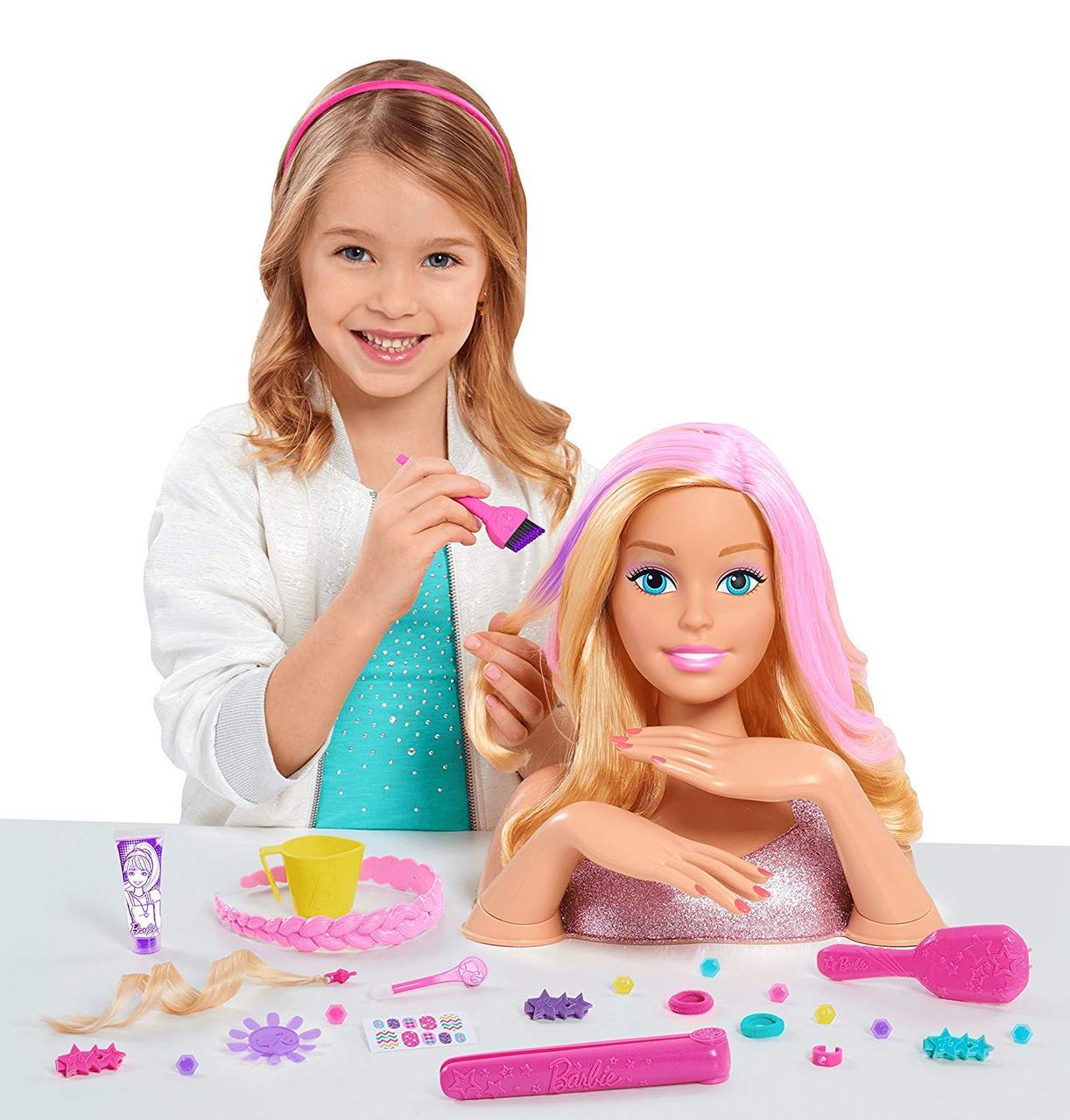 Барби голова манекен