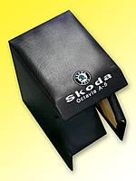 HoliCARday - Подлокотник автомобильный SKODA OKTAVIA A-5 BLACK