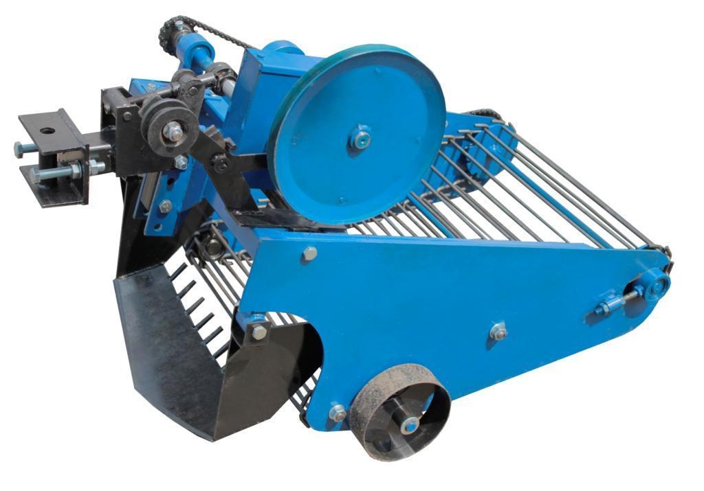 """Картоплекопач транспортерні з активним ножем """"Преміум""""для мототрактора з гідравлікою (Скаут)"""