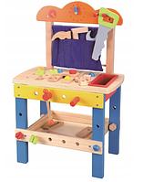 Деревянный слесарный стол с инструментами для детей Lelin L10157