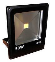 Светодиодный прожектор Feron LL-839 1LED 50W чёрный 6400K 230V (285*235*57mm)  IP65