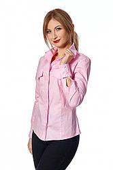 Рубашка цвет розовый 444.03