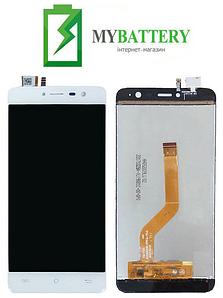 Дисплей (LCD) Cubot Note Plus с сенсором белый