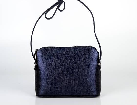 Жіночий клатч ASSA темно синій, фото 2