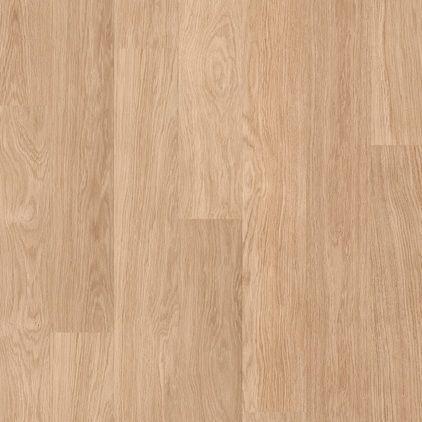 Ламинат влагостойкий Quick Step ELIGNA Доска дуба белого лакированного 915 32 класс 8мм зауженная доска