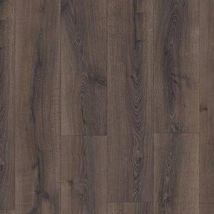 Ламинат  Quick Step MAJECTIC Дуб пустынный темно-коричневый 3553 водостойкий 32 класс 9,5мм широкая доска
